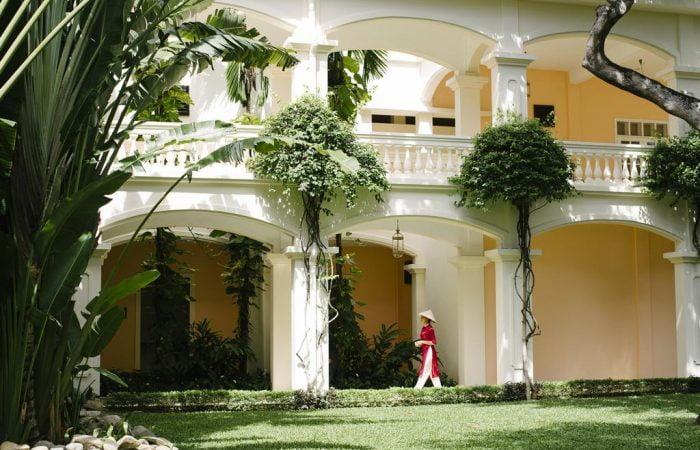 anantara resort - outside buildinga