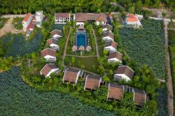 aravinda resort - view from above