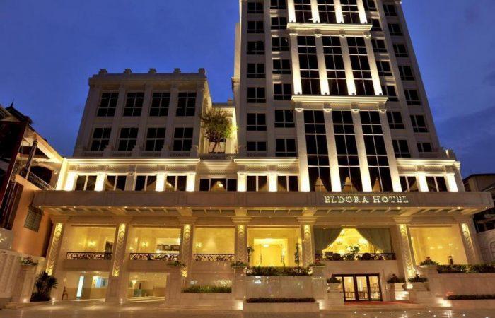 eldora hotel entrance outside