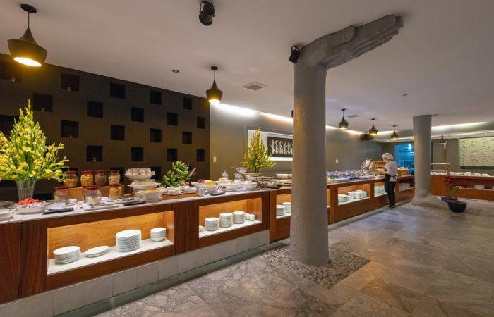 pilgrimage village resort - enjoy delicious breakfast