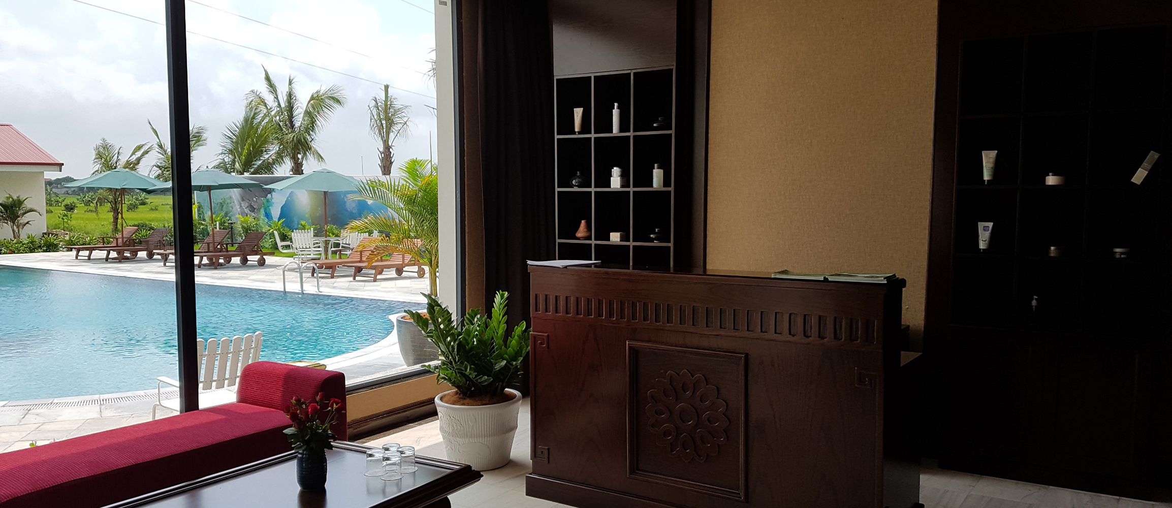 Hidden Charm Hotel offers greta views