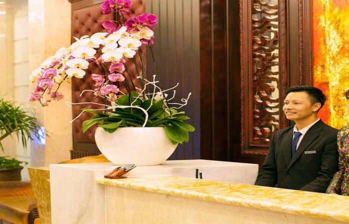 Alagon City Hotel Reception