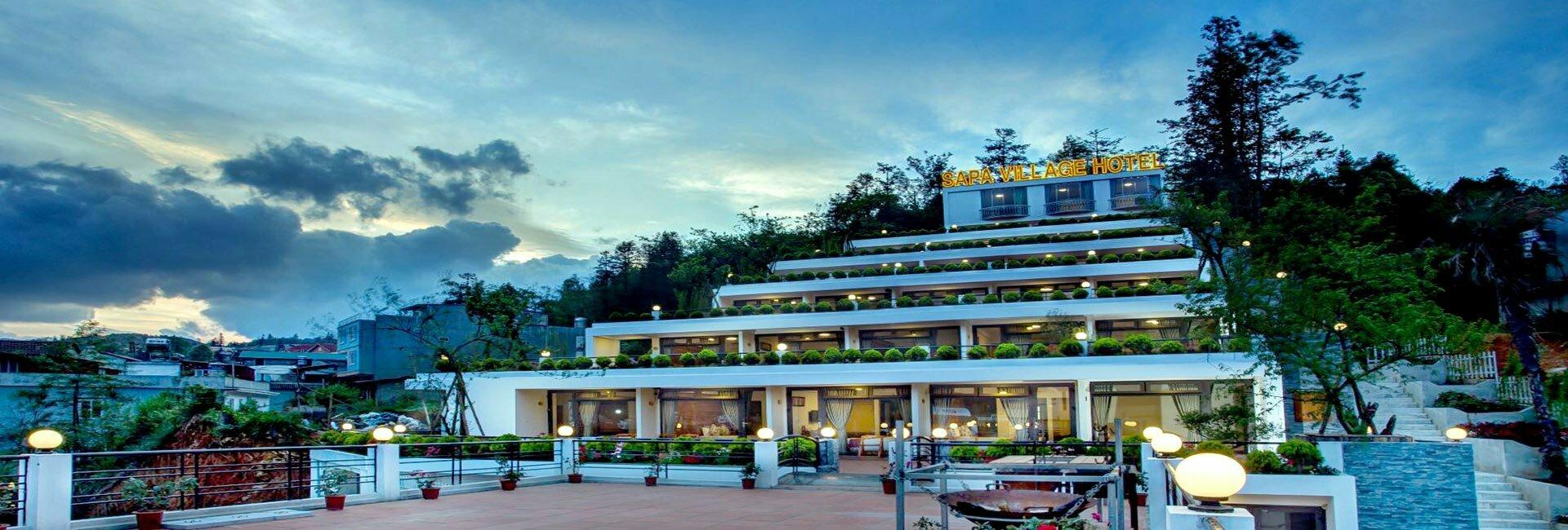 Sapa Village Hotel Outside