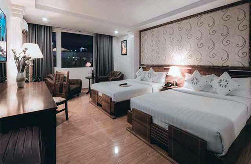 Alagon City Hotel Elegant Suite Beds