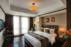 Spacious executive room of Golden Lotus Luxury Hotel Hotel