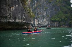 One of many activities on Renea Cruise : Kayaking