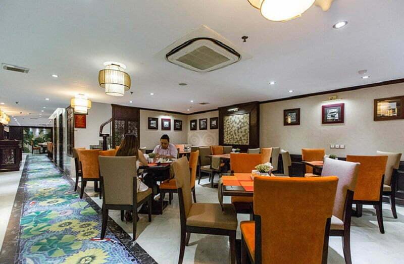 People at Golden Lotus Luxury Hotel Restaurant