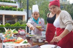Sapa Village Hotel Cooking Class Guests